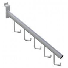 Кронштейн наклонный с 5-ю крючками эп (F112 c)