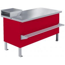 Прилавок холодильный среднетемпературный «Мясной» ПХС-1,00/0,85 (под выносное холодоснабжение)