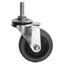 Колесо одинарное хром серый (Jr 34 С)