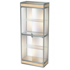 Шкаф-витрина из АЛПРО 900х400х2000 (АЛПРО 5)