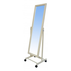 Зеркало напольное на колесах, хром 550Lx1774Hx505Dмм, полотно 1500х500мм