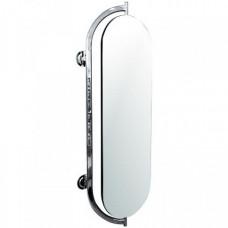 Зеркало настенное вращающееся хром